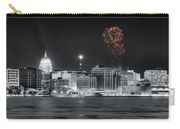 Madison - Wisconsin - New Years Eve Fireworks 3 Carry-all Pouch