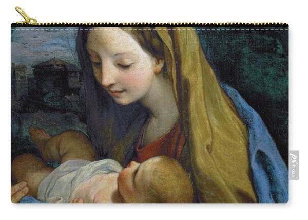 Madonna And Child Carry-all Pouch