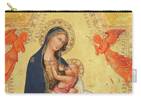 Madonna Of Humility Carry-all Pouch