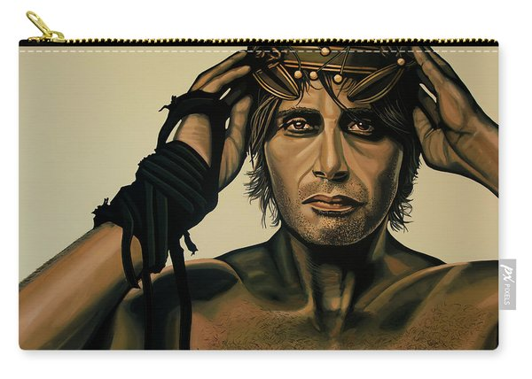 Mads Mikkelsen Painting Carry-all Pouch