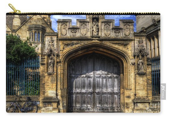 Magdalen College Door - Oxford Carry-all Pouch