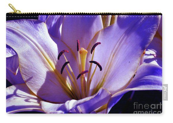 Magic Floral Poetry Carry-all Pouch