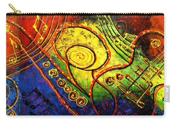 Magic Guitar Carry-all Pouch