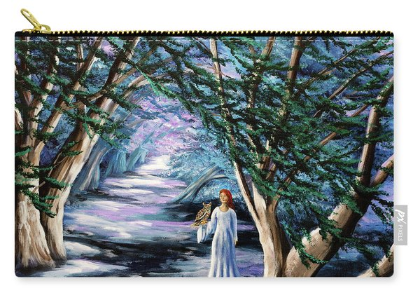 Magic In Cypress Woods Carry-all Pouch