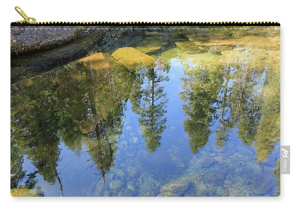 Carry-all Pouch featuring the photograph Magic Light On Big Silver by Sean Sarsfield