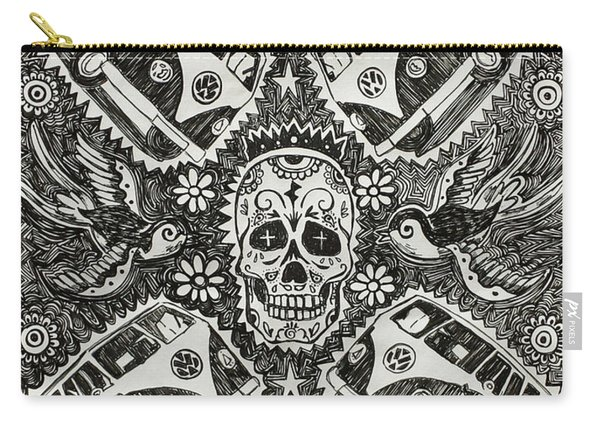 Magic Muerto Bus Carry-all Pouch