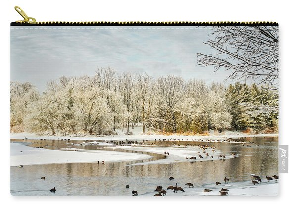 Magic Of Winter Carry-all Pouch