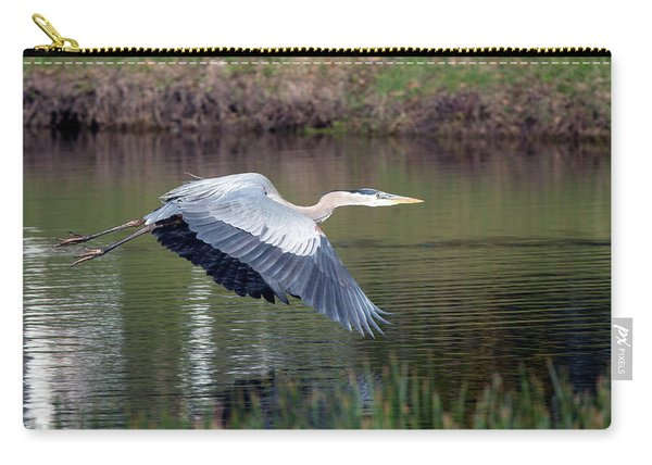 Magnificent Blue Carry-all Pouch