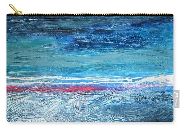 Magnificent Morning Abstract Seascape Carry-all Pouch