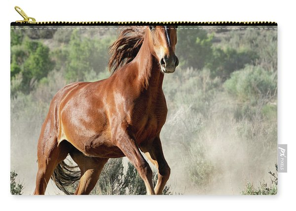 Magnificent Mustang Wildness Carry-all Pouch