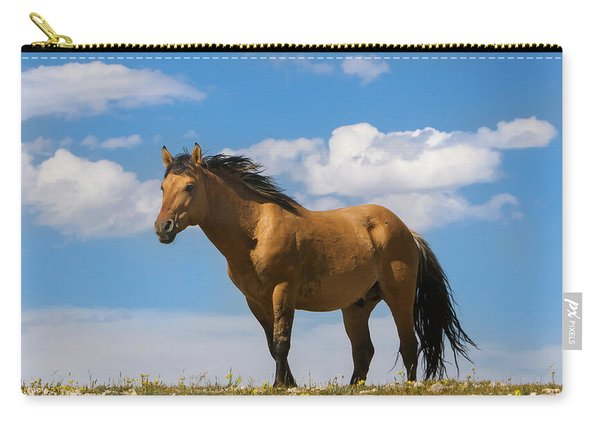 Magnificent Wild Horse Carry-all Pouch