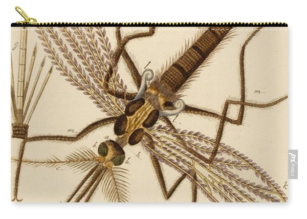 Magnified Mosquito Carry-all Pouch