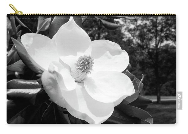 Magnolia Bloom- By Linda Woods Carry-all Pouch