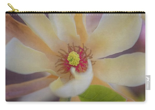 Carry-all Pouch featuring the photograph Magnolia Blossom by Tom Singleton