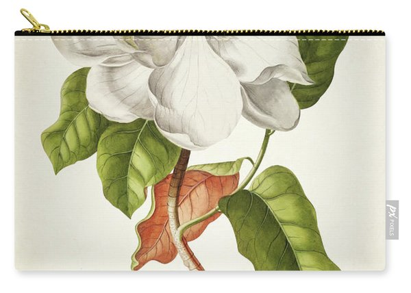 Magnolia Botanical Print Carry-all Pouch
