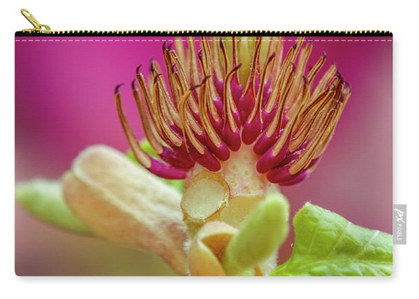 Magnolia Stamens Macro Carry-all Pouch