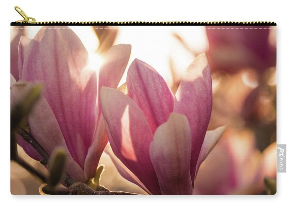 Magnolias At Sunset Carry-all Pouch