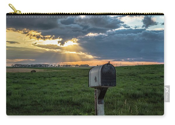 Mail Box In North Dakota  Carry-all Pouch