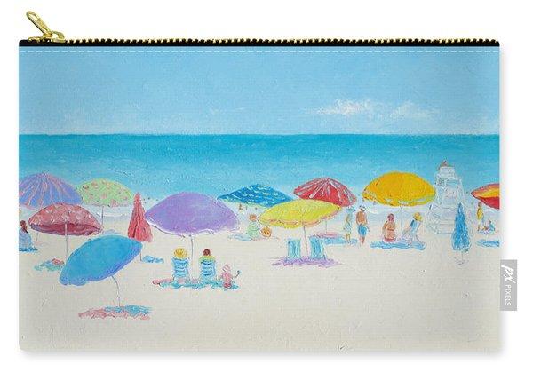 Main Beach East Hampton  Carry-all Pouch