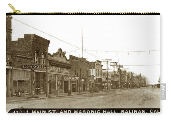 Main Street, Salinas Circa 1910 Carry-all Pouch
