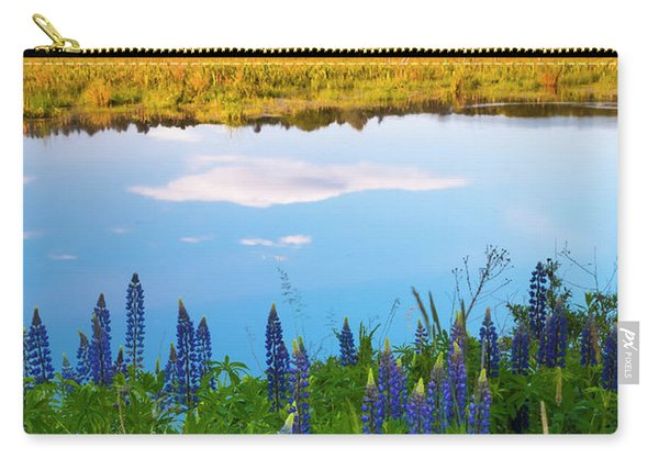 Maine Field Of Lupines Carry-all Pouch