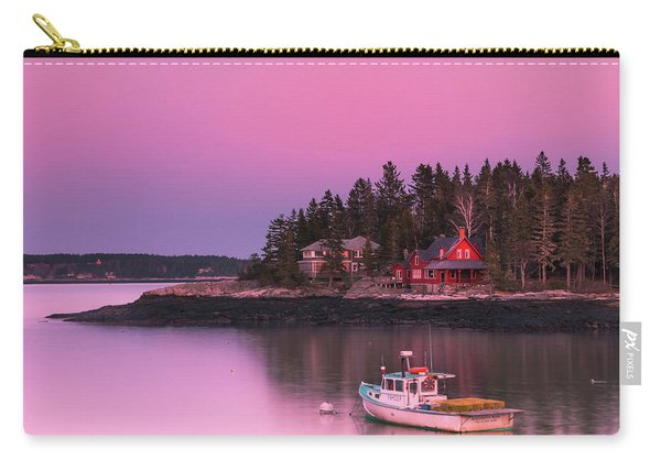 Maine Five Islands Coastal Sunset Carry-all Pouch