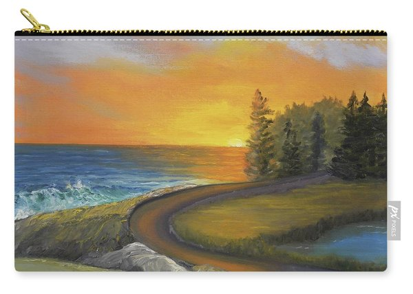 Maine Ocean Sunrise Carry-all Pouch