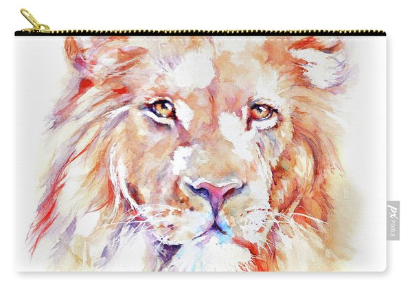Majestic African Lion Carry-all Pouch
