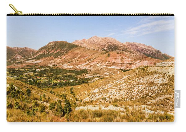 Majestic Arid Peaks Carry-all Pouch