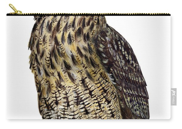 Majestic Eurasian Northern Eagle Owl Bubo Bubo - Hibou Grand-duc - Buho Real - Nationalpark Eifel Carry-all Pouch