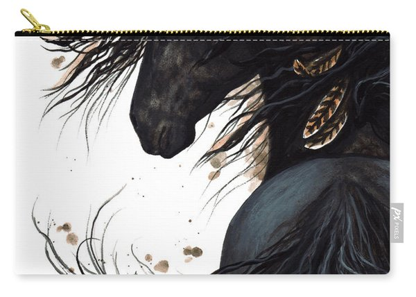 Majestic Friesian 143 Carry-all Pouch