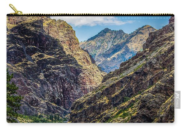 Majestic Hells Canyon Idaho Landscape By Kaylyn Franks Carry-all Pouch