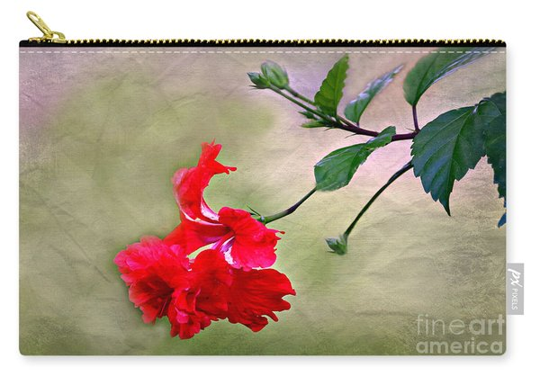 Majestic Hibiscus Bloom Carry-all Pouch