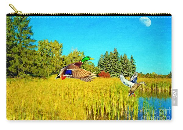 Majestic Mallards Carry-all Pouch
