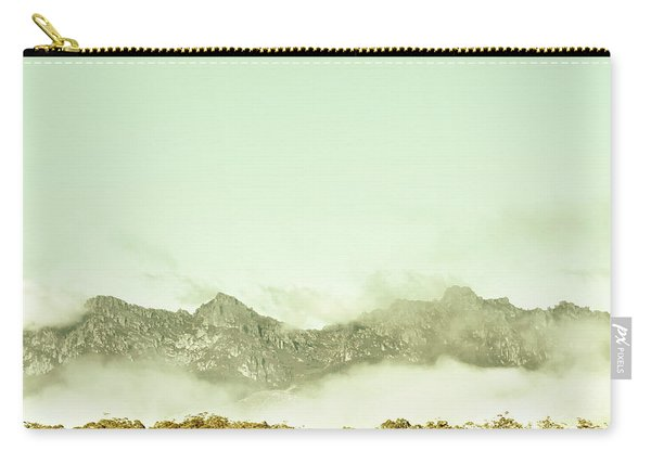 Majestic Misty Mountains Carry-all Pouch