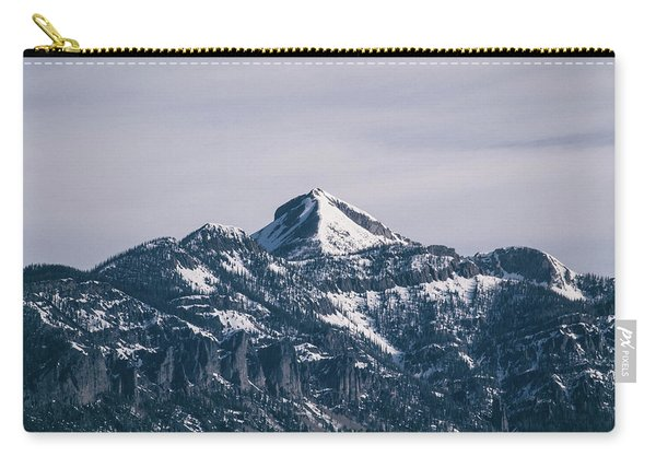Carry-all Pouch featuring the photograph Majestic Morning On Pagosa Peak by Jason Coward