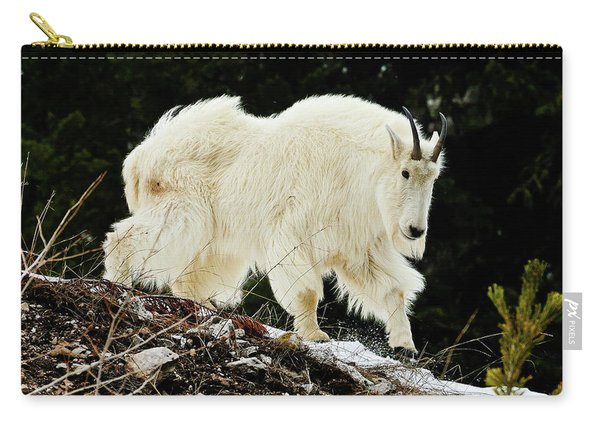 Majestic Mountain Goat Carry-all Pouch