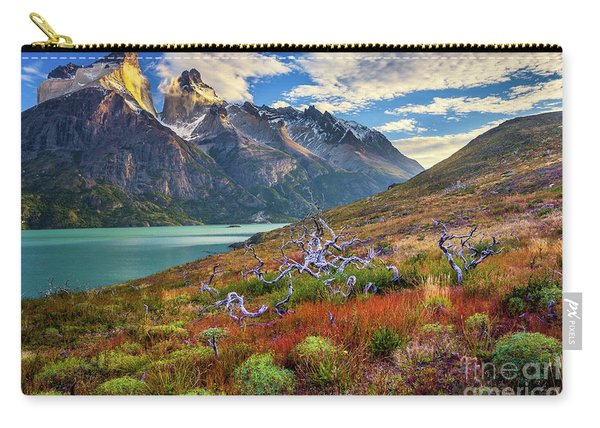 Majestic Torres Del Paine Carry-all Pouch