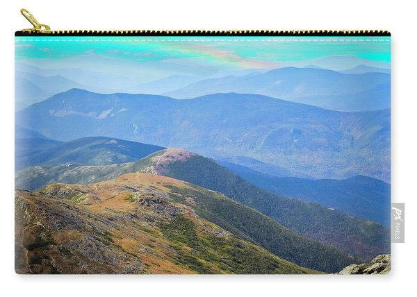 Majestic White Mountains Carry-all Pouch