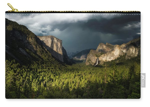 Majestic Yosemite National Park Carry-all Pouch