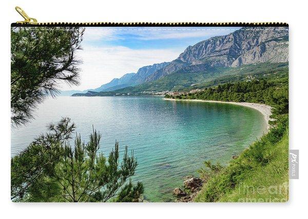 Makarska Riviera White Stone Beach, Dalmatian Coast, Croatia Carry-all Pouch