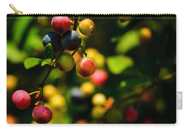 Making Blueberries Carry-all Pouch