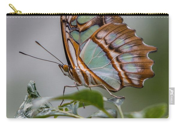 Malachite Butterfly Profile Carry-all Pouch