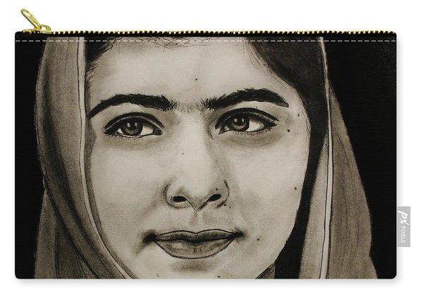 Malala Yousafzai- Teen Hero Carry-all Pouch