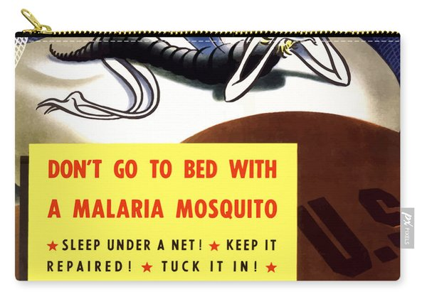 Malaria Mosquito Carry-all Pouch