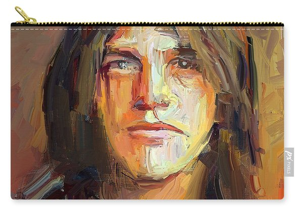 Malcolm Young Acdc Tribute Portrait Carry-all Pouch