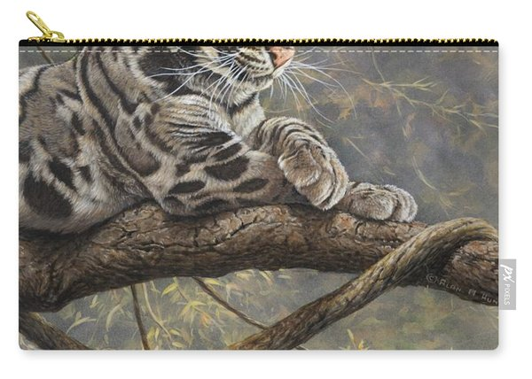 Male Clouded Leopard Carry-all Pouch