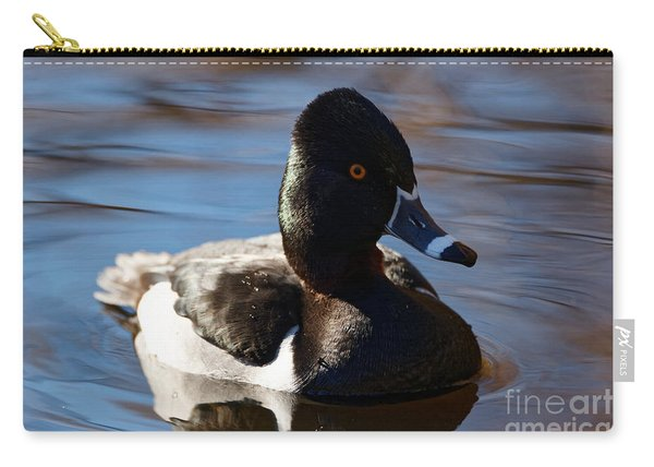 Male Ring-necked Duck Carry-all Pouch