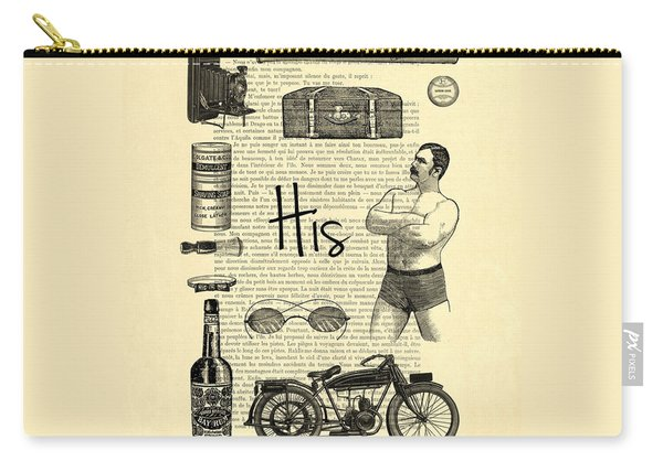 Male Wedding Gift Carry-all Pouch