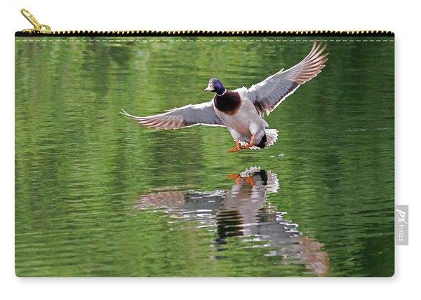 Mallard Drake Landing Carry-all Pouch